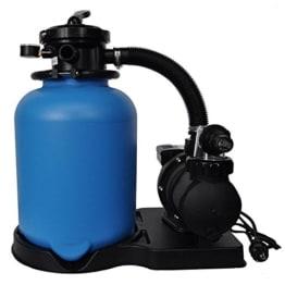8,0m³/h Sandfilter ECO Ø 400 mit SPS-100-1 Pumpe bis 40m³ Becken -