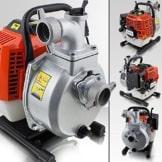 BITUXX® 1,7 PS Benzin Wasserpumpe Motorpumpe Garten Benzinwasserpumpe Gartenpumpe Wasser Pumpe Pumphöhe:35m Ansaughöhe:8m Fördermenge:15m³/h -