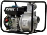 DeTec. Benzin Wasserpumpe DT-LBB80 mit 6,5 PS Motor 60.000 Liter Förderleistung / Stunde max. 28 Meter Förderhöhe inkl. Zubehör -