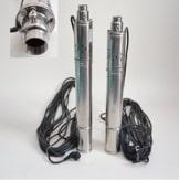 """Edelstahl 3"""" Tiefbrunnenpumpe 550W-750W 7-11,5bar 2100-2700 l/h Rohrpumpe Brunnenpumpe (3""""SQIBO 0,55kw) -"""