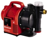Einhell Hauswasserautomat GC-AW 9036 (900 W, 3600 l/h Fördermenge, max. Förderhöhe 43 m, elektr. Durchflussschalter, Automatikfunktion) -