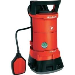 Einhell Schmutzwasserpumpe GE-DP 3925 ECO Power (390 Watt, max. 10.000 l/h, max. 6 m Förderhöhe, Fremdkörper bis 25 mm, stufenloser Schwimmerschalter) -