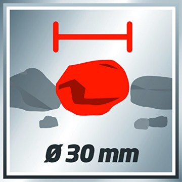 Einhell Schmutzwasserpumpe GE-DP 7330 LL ECO (730 W, 16500 l/h, max. Förderhöhe 8,5 m, Fremdkörper bis 30 mm, Schwimmerschalter, Edelstahl) -