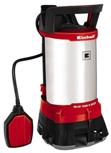 Einhell Schmutzwasserpumpe GE-DP 7935 N ECO Power (790 Watt, max. 20.000 l/h, max. 9 m Förderhöhe, Fremdkörper bis 35 mm, stufenloser Schwimmerschalter) -