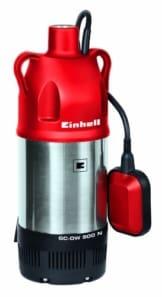Einhell Tauchdruckpumpe GC-DW 900 N (900 W, max. 6000 l/h, 32 m Förderhöhe, Fremdkörper bis 2,5 mm, Stufenlos höhenverstellbarer Schwimmerschalter) -