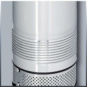 Einhell Tiefbrunnenpumpe GC-DW 1000 N (1000 W, 6500 L/h, 19 m Eintauchtiefe, 45 m Förderhöhe, Edelstahlgehäuse, inkl. 22 m Ablassseil) -