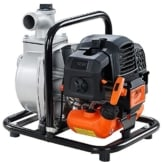 FUXTEC Benzin Wasserpumpe FX-WP143 mit 8.000 l Fördermenge und max. Förderhöhe 30 m Gartenpumpe Teichpumpe -