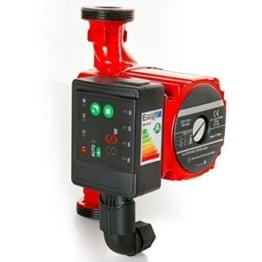 Hochwertige Hocheffizienzpumpe - Umwälzpumpe - LED Heizungspumpe-LED AUTOMATIK ANZEIGE -Daten:RS 25-60 180 elektronisch-Leistungsaufnahme 5-45-Energieeffizienklasse A- W-80% -230 V -Ersparnis-Neuheit-DIAMOND -