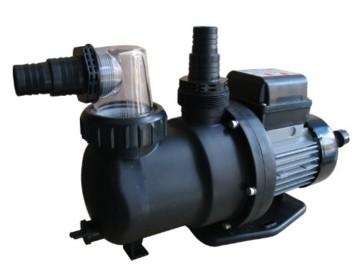 Steinbach Sandfilteranlagenzubehör Filterpumpe SPS 100-1T, mit Zeitschaltuhr, Schwarz, 158 l/min / 550 W / 230 V -