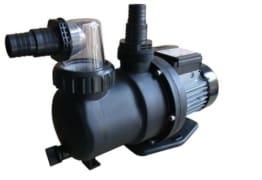 Steinbach Sandfilteranlagenzubehör Filterpumpe SPS 75-1T, mit Zeitschaltuhr, Schwarz, 142 l/min / 450 W / 230 V -