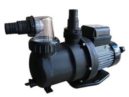 Steinbach Sandfilteranlagenzubehör Filterpumpe SPS100-1, Schwarz, 158 l/min / 550 W / 230 V -