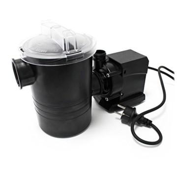 SunSun Poolpumpe 5000 l/h 70 W Schwimmbadpumpe Filterpumpe Umwälzpumpe CPP-8000F -