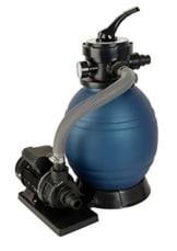 T.I.P. Schwimmbad Filter Set Sandfilteranlage SPF 180, bis 4.500 l/h -