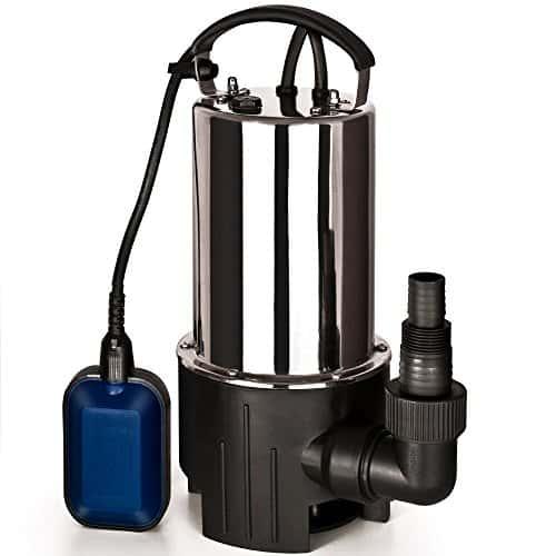tauchpumpe wasserpumpe edelstahl schmutzwasserpumpe teichpumpe pumpe schwimmschalter 11500 l h. Black Bedroom Furniture Sets. Home Design Ideas