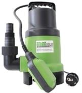 TrutzHolm® Schmutzwassertauchpumpe 400W 10.000 l/h Körnergröße 35 mm Schmutzwasserpumpe Tauchpumpe Brunnenpumpe Pumpe mit Schwimmer Abwasserpumpe Gartenpumpe Teich -