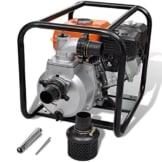 vidaXL 5,5 PS Benzin Schmutzpumpe Wasserpumpe Gartenpumpe Kreiselpumpe Teichpumpe -