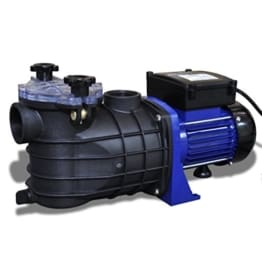 vidaXL Schwimmbadpumpe Umwälzpumpe Poolpumpe Pumpe elektronik blau 600W 90465 -