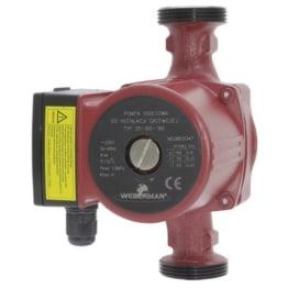 WEBERMAN 25-40 130mm Umwälzpumpe ,Heizungspumpe , 0203W-Heizungspumpe ist ideal geeignet für die Zentralheizungssysteme-Hochwertige Qualitätspumpe -