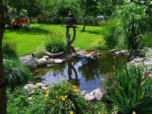 Teichpumpe für den Gartenteich