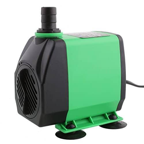 amzdeal tauchpumpe aquariumpumpe schwarz 24watt 3000l h pumpen. Black Bedroom Furniture Sets. Home Design Ideas