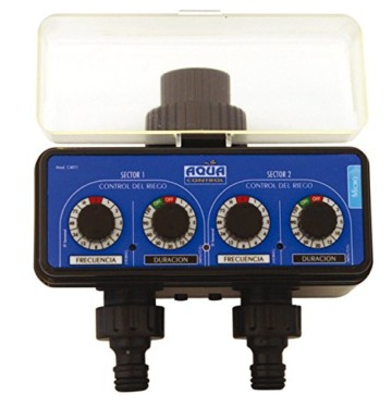 Aqua Control C4011Zeitschaltuhr 2-fach für Bewässerung -