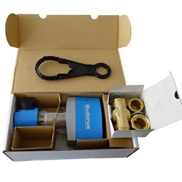 Buderus Rückspülfilter Druckminderer Wasserfilter