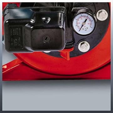 Einhell Hauswasserwerk GC-WW 1046 N (1050 W, 4600 L/h Max. Fördermenge, Max. Förderdruck 4,8 bar, Druckschalter, Manometer, 20 L Behälter) - 2