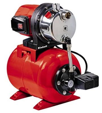 Einhell Hauswasserwerk GC-WW 1046 N (1050 W, 4600 L/h Max. Fördermenge, Max. Förderdruck 4,8 bar, Druckschalter, Manometer, 20 L Behälter) - 1