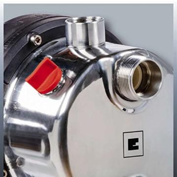 Einhell Hauswasserwerk GC-WW 1046 N (1050 W, 4600 L/h Max. Fördermenge, Max. Förderdruck 4,8 bar, Druckschalter, Manometer, 20 L Behälter) - 5