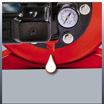 Einhell Hauswasserwerk GC-WW 1046 N (1050 W, 4600 L/h Max. Fördermenge, Max. Förderdruck 4,8 bar, Druckschalter, Manometer, 20 L Behälter) - 6