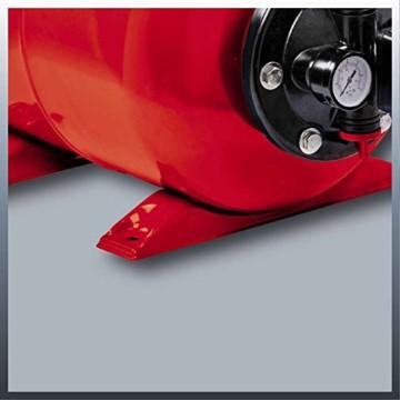 Einhell Hauswasserwerk GC-WW 1046 N (1050 W, 4600 L/h Max. Fördermenge, Max. Förderdruck 4,8 bar, Druckschalter, Manometer, 20 L Behälter) - 7