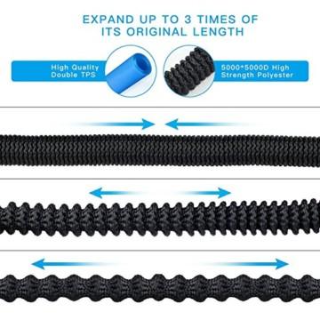 flexibler gartenschlauch 30m st rkste doppel latex innenrohrmagie wasserschlauch dehnbar schwarz. Black Bedroom Furniture Sets. Home Design Ideas