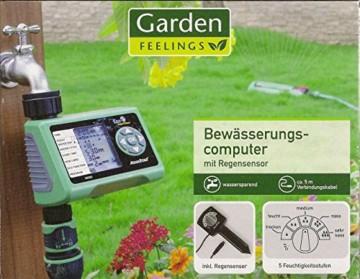 Garden Feelings - Bewässerungscomputer mit Regensensor -