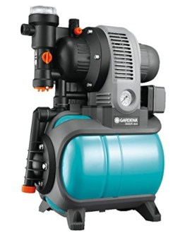 GARDENA 1753-20 Pumpe Classic Hauswasserwerk 3000/4 eco, mit Thermoschutzschalter, Rückschlagventil; Start/Stop Automatik, (650W Leistung, max. Fördermenge 2.800 l/h, max. Förderhöhe 40m) - 1