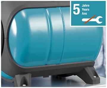 GARDENA 1753-20 Pumpe Classic Hauswasserwerk 3000/4 eco, mit Thermoschutzschalter, Rückschlagventil; Start/Stop Automatik, (650W Leistung, max. Fördermenge 2.800 l/h, max. Förderhöhe 40m) - 6