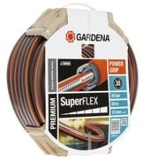 Gardena 18096-20 Schlauch Premium SuperFLEX, Mit Power Grip Profil und Hochwertiges Spiralgewebe (Schlauchlänge: 30m, Schlauchdurchmesser: 13mm, Berstdruck: 35 bar, ohne Schlauchstück) - 1