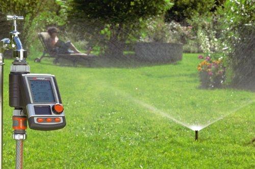 Bewässerung mit Versenkregner