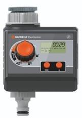 Gardena 1883-20 Bewässerungscomputer FlexControl; Wassersparender Betrieb; Einfache Dateneingabe (Betriebsdruck 0,5 - 12 bar; 3 Bewässerungszyklen p.D.; Bewässerungsdauer 1 min - 1 h 59 min ) -