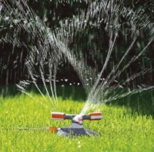 Bewässerung mit Kreisregner