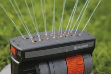 Gardena 8220-29 Viereckregner versenkbar OS 140 (Beregnete Fläche 2 - 140 qm; Reichweite 2 - 15 m; Sprengbreite bis 15 m; Sprenglänge bis 9,5 m ) kann fast Ebenerdig montiert werden - 3