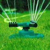 Garten Sprinkler- Automatische Rasen Wasser Sprinkler 360 Grad 3- Arm Rotierende Sprinkler System - 1