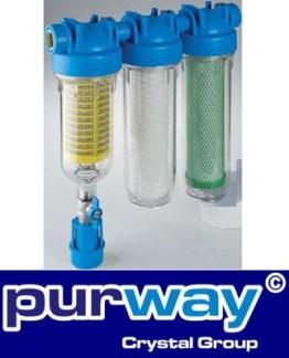 """HYDRA Rainmaster Trio RLH CB/EC 3/4"""" Hauswasserfilter Brunnenwasserfilter Filter - 1"""