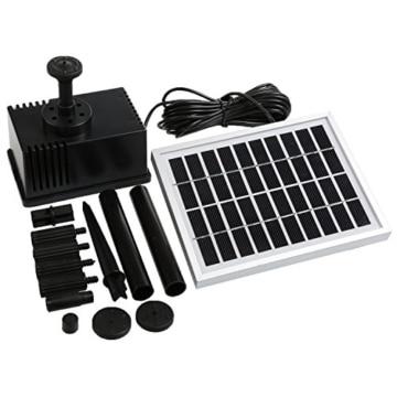 newstyle 2w teichpumpe solar pumpe brunnen wasserspiel f r. Black Bedroom Furniture Sets. Home Design Ideas