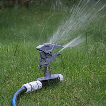 Professioneller Impulsregner aus Metall, 3-fach ErdspießHochleistungssprühanlage für den Garten, kompatibel mit Hozelock, - 7