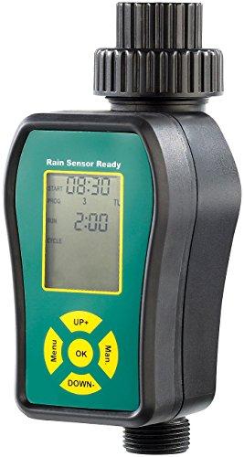 Royal Gardineer Bewässerungscomputer: Digitale Bewässerungsuhr für automatische Bewässerung (Bewässerungssysteme) -