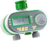 Royal Gardineer Bewässerungstimer: Digitaler Bewässerungscomputer BWC-200 mit 2 Anschlüssen (Wassercomputer) -