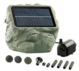 "Royal Gardineer Solar Teichpumpe: Solarbetriebene Teichpumpe ""Biosphere"" (Solarpumpe) -"