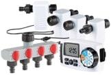 Royal Gardineer Wassercomputer: Bewässerungscomputer BWC-400 mit 4 Schlauch-Anschlüssen (Bewässerung Computer) -