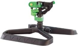 Royal Gardineer Wassersprenger: Impuls-Rasensprenger mit Standfuß (Impulsregner) - 1
