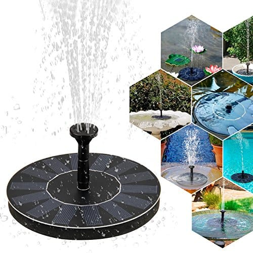 solar springbrunnen mture solar teichpumpe mit 1 4w monokristallinem solar wasserpumpe font ne. Black Bedroom Furniture Sets. Home Design Ideas